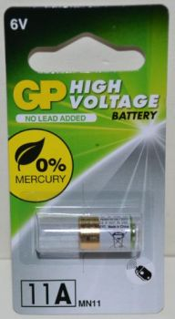 Батарейка GP Super Alkaline 11A (LR11) 6V (d=10; l=16mm)