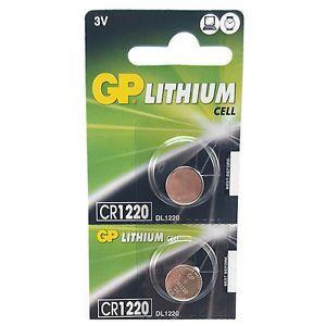 Батарейка GP CR-1220 Lithium 1х5шт /1/5/