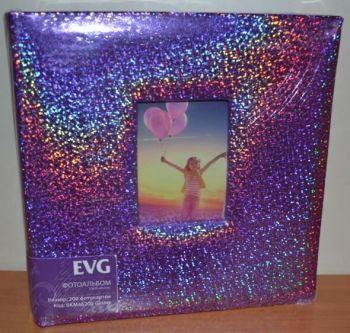 Фотоальбом на 200 фото 10х15 с местом для записей EVG Glister