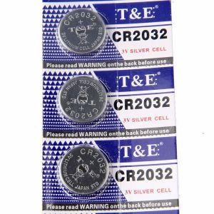 Батарейка T&E CR-2032 Lithium 1х5шт /5/100/