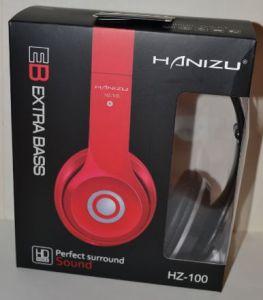 Наушники Hanizu HZ-100 black средние
