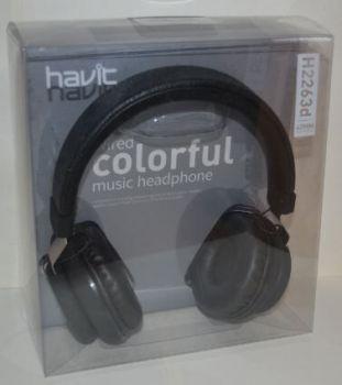 Наушники с микрофоном Havit HV-H2263d black