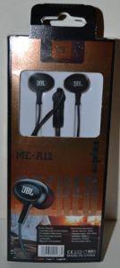 Наушники+микрофон JBL ME-A12 black