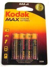 Батарейки KODAK MAX LR-03 блистер 1x4шт /4/40/