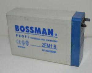 Аккумулятор Bossman LA 418 2FM1,8 (4V/1,8Ah) (50х22х75)