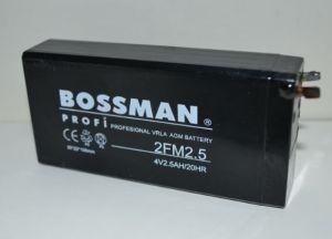 Акк Bossman LA 425 2FM2,5 (4V/2,5Ah) (50х22х100)