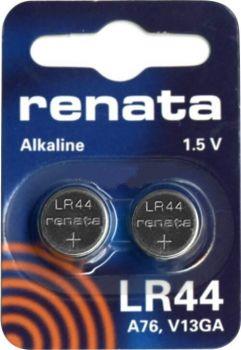 Час Renata LR44 (AG13) блистер 1х2шт /2/20/