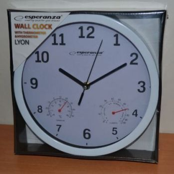 Часы настенные Esperanza LYON ЕН-C016W /1/