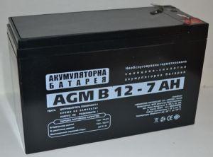 Аккумулятор LogicPower 12v 7Аh 6FM7 (151x65x94+6mm)