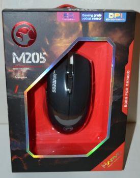Мышь Marvo M205-BK оптическая игровая