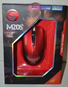 Мышь Marvo M205-RD оптическая игровая