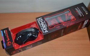Мышь Marvo M309+G1 оптическая игровая + коврик