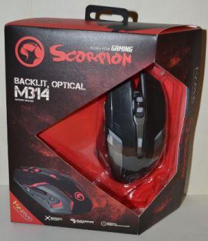 Мышь Marvo M314 оптическая игровая