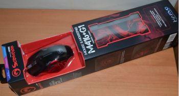 Мышь Marvo M416+G1 оптическая игровая + коврик