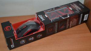 Мышь Marvo M417+G1 оптическая игровая + коврик