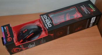 Мышь Marvo M928+G1 оптическая игровая + коврик