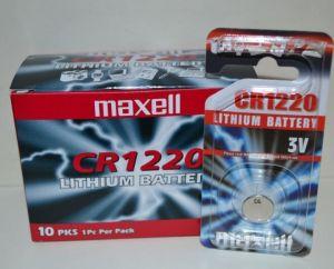 Батарейка Maxell СR-1220 Lithium 1x1шт /1/10/