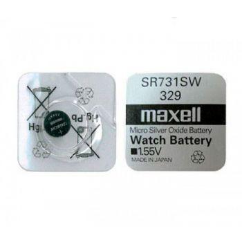 Часовая батарейка Maxell 329 (SR-731SW) 1х1шт /1/10/