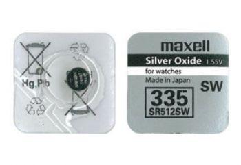 Час Maxell 335 (SR-512SW) 1х1шт /1/10/