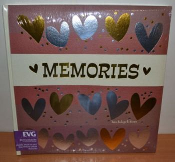 Фотоальбом самоклейка EVG 20 листов S29x29см Memories