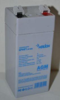 Аккумулятор Merlion 4v 4Аh (48x48x108+6mm)