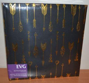 Фотоальбом на 200 фото 10х15 с местом для записей EVG Modern