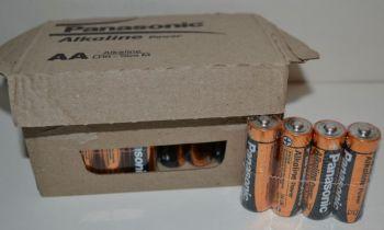 Батарейки PANASONIC Alkaline Power LR-6 (АА-пальчиковая) коробка 1х4шт.