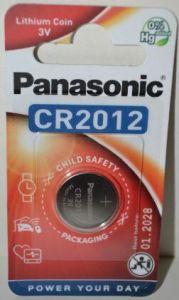 Батарейка PANASONIC CR-2012 Lithium 1х1шт /1/10/