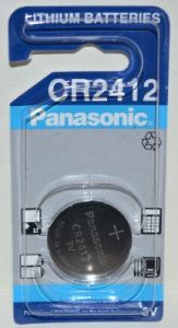 Батарейка PANASONIC CR-2412 Lithium 1х1шт /1/10шт.