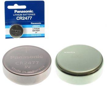 Бат PANASONIC CR-2477 Lithium 1х5шт /1/5/
