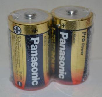 Батарейки PANASONIC Pro Power LR-20 коробка 1х2шт /2/