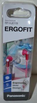 Вакуумные наушники PANASONIC RP-HJE119EE-P pink (розовые)