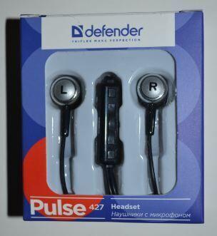 Наушники+микрофон Defender Pulse 427 black-silver /1/