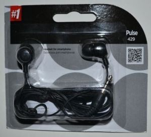 Наушники+микрофон Defender Pulse 429 black /1/