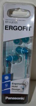 Наушники PANASONIC RP-HJE125E-Z blue (голубые)