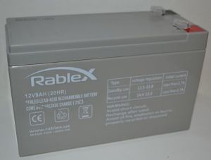 Аккумулятор Rablex 12v 9Аh 6FM9 (151x65x94+6mm)