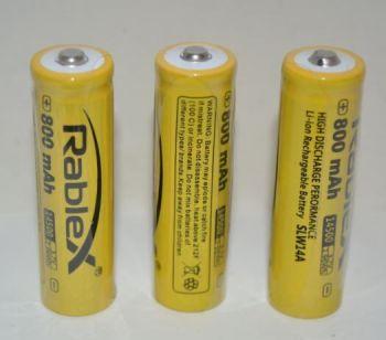 Аккумулятор Rablex 14500 800mAh 3,7V Li-ion