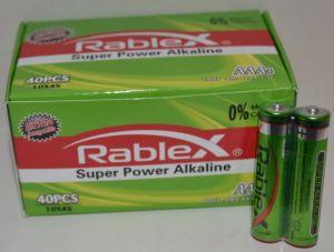 Батарейки Rablex LR-03 коробка 1x2шт /2/40/1000шт.