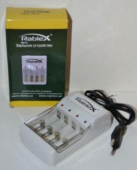 Зарядное устройство Rablex RB-115 1..4*AA/AAA NiCd/NiMh 120mAh