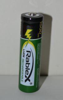 Аккумулятор Rablex 18650 1500mAh 3,7V Li-ion