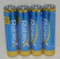 Батарейки Rablex R-03 коробка 1x4шт /4/60/