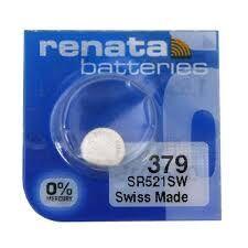 Час Renata 379 (SR-521SW, SR-63) AG0 блистер 1х10шт /1/10/100/