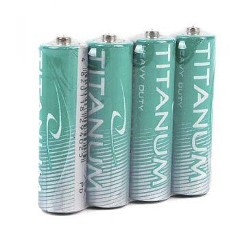 Батарейки TITANUM R-6 коробка 1х4шт /4/40/