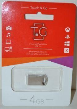 USB флешка 4Gb T&G 105 metal series