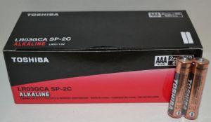 Батарейка Toshiba Alkaline LR-03 коробка 1х2шт /2/60шт.