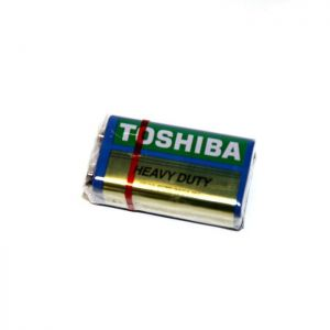 Батарейка крона Toshiba HEAVY DUTY 6F22 коробка 1х1шт /1/10шт.