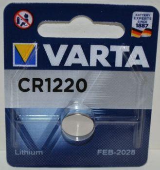 Батарейка VARTA CR-1220 Lithium 1х1шт /1/10шт.