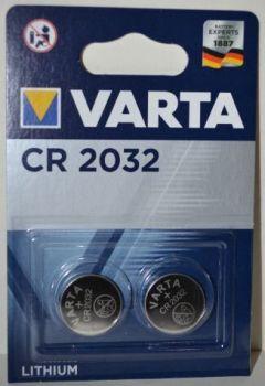 Батарейка VARTA CR-2032 Lithium 1х2шт /2/20шт.