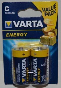 Батарейка VARTA Energy LR-14 (С) блистер 1х2шт /2/20шт.