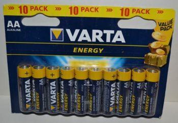 Батарейки VARTA Energy LR-6 блистер 1х10шт /10/